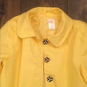 Yellow Gymboree jacket